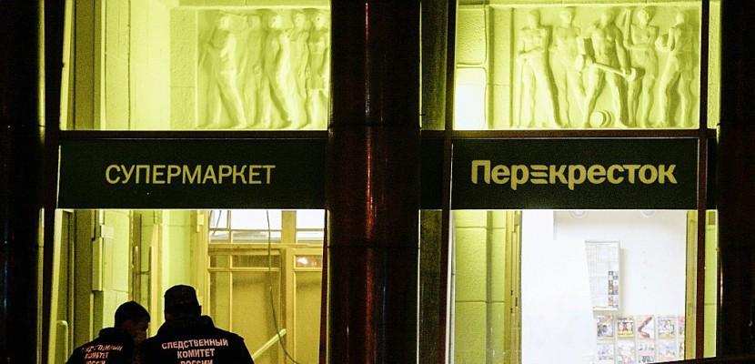 Russie: explosion dans un supermarché à Saint-Pétersbourg
