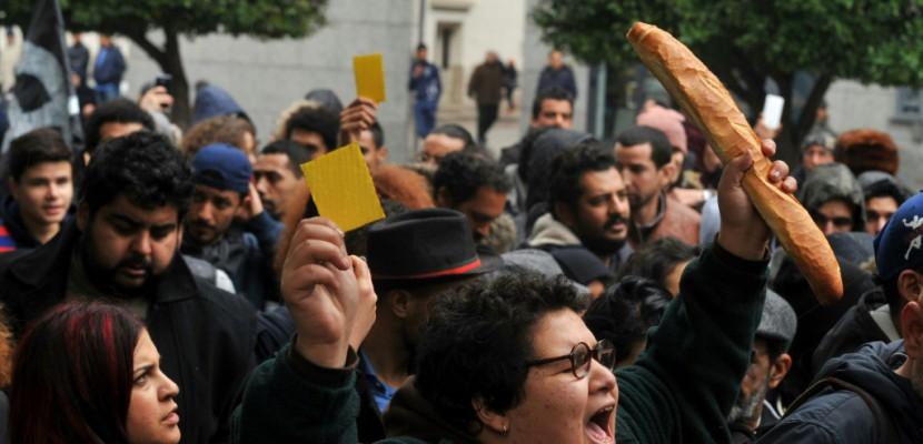 La Tunisie marque dans la tension le 7e anniversaire de la révolution