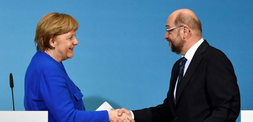 Allemagne: l'accord gouvernemental déjà remis en cause au SPD