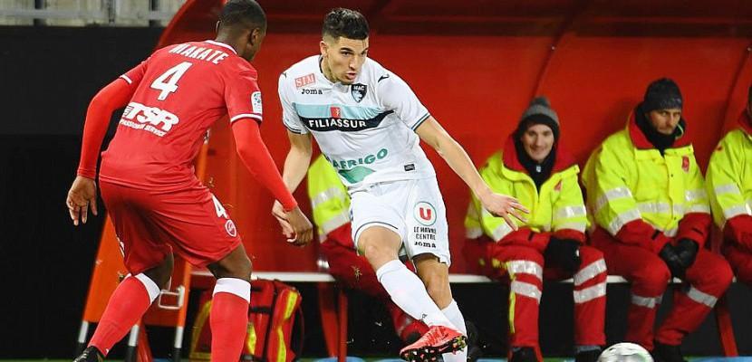 Le-Havre. Football (Ligue 2, 22e journée): Le Havre fait du surplace à Valenciennes