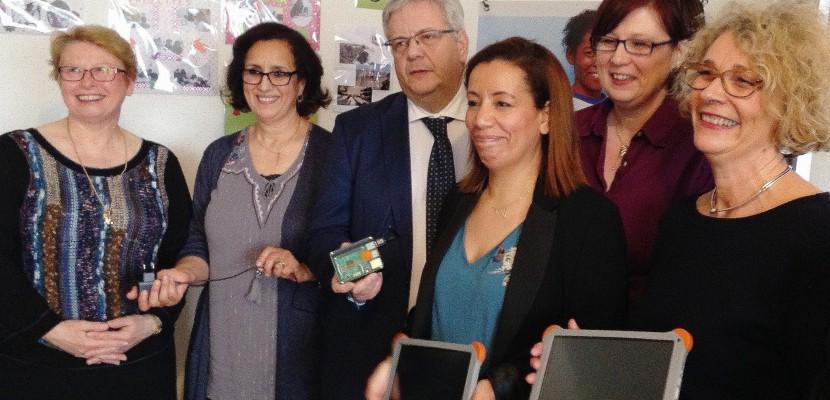 Du matériel pour favoriser la réussite des enfants du quartier Grammont de Rouen