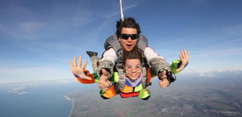 saut en parachute en normandie