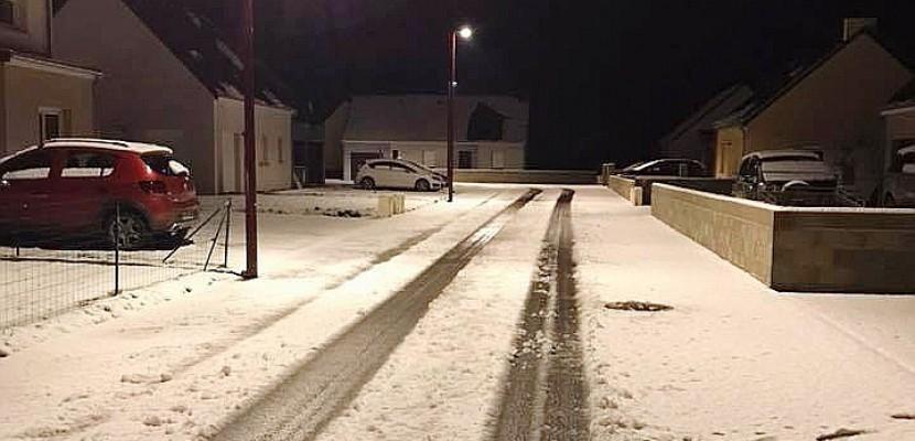 Cherbourg. Première vague de neige : le Cotentin et l'Orne touchés