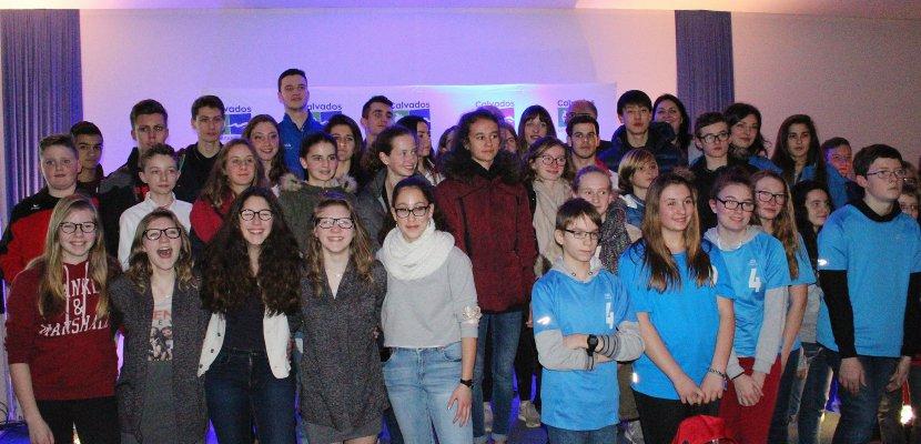 Récompense : Le département du Calvados honore ses champions