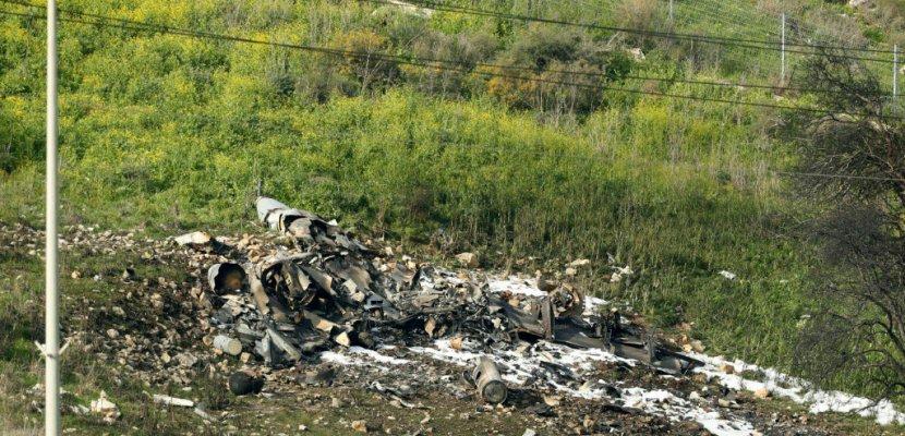 Un F16 israélien s'écrase après des raids contre des