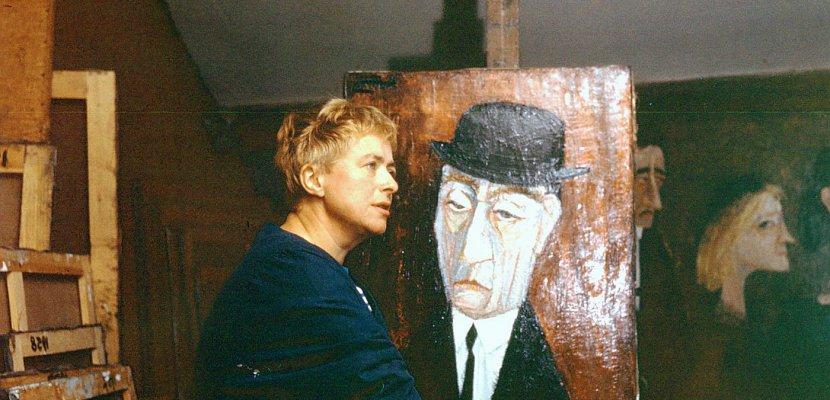 Auffray, peintre et résistante de l'Orne, exposée à Alençon