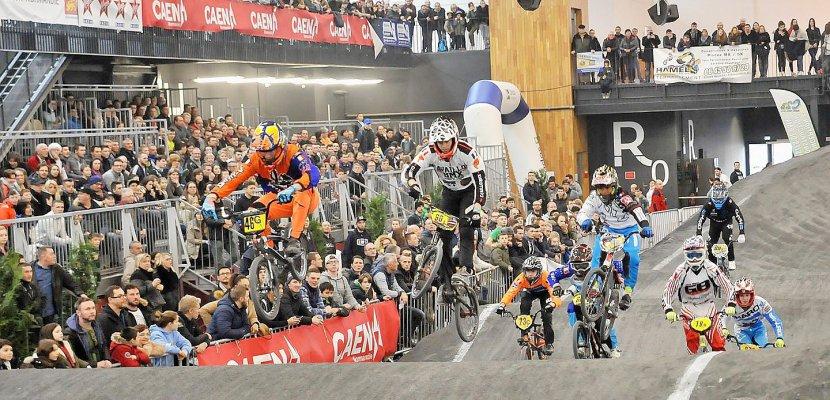 Le Parc Des Expositions De Caen Accueille Le Caen Bmx