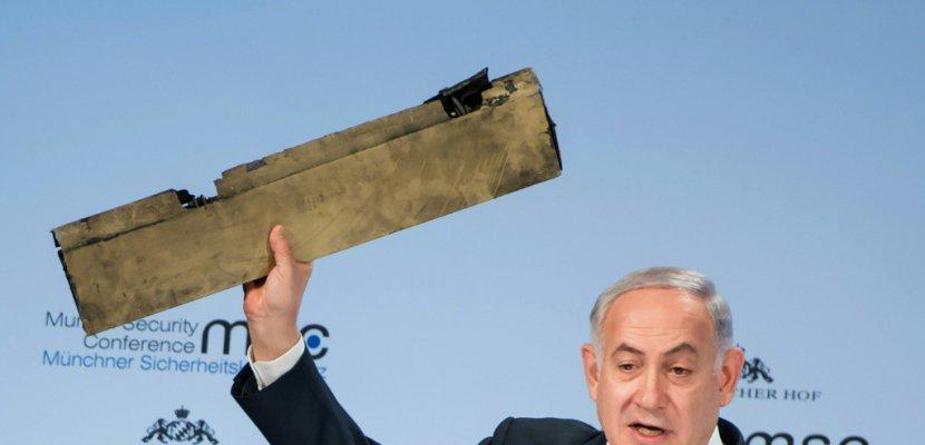 Syrie: théâtral, Netanyahu menace l'Iran de représailles