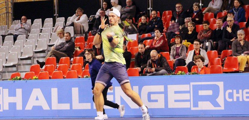 Cherbourg. L'Allemand Maximilian Marterer remporte le Challenger de tennis de Cherbourg