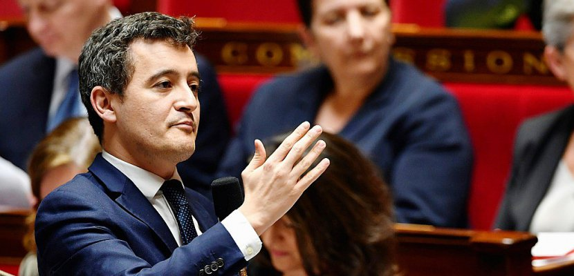 "SNCF: Darmanin ""pas opposé"" à la suppression du statut de cheminot"