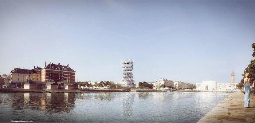 Une nouvelle tour va voir le jour au cœur du Havre [photos]
