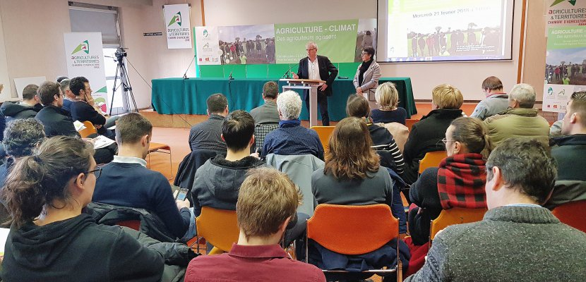 Alençon. Expérimentation nationale: des agriculteurs Normands mobilisés pour le climat