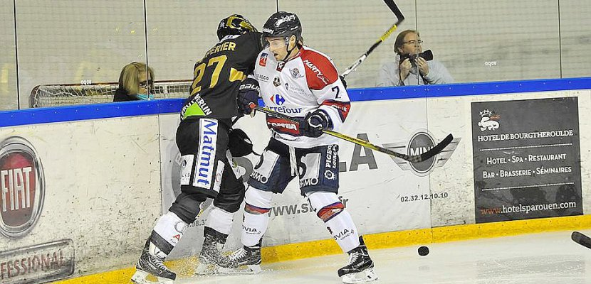 Hockey-sur-glace (Magnus, Play-off) : Les Dragons ouvrent sereinement face à Angers