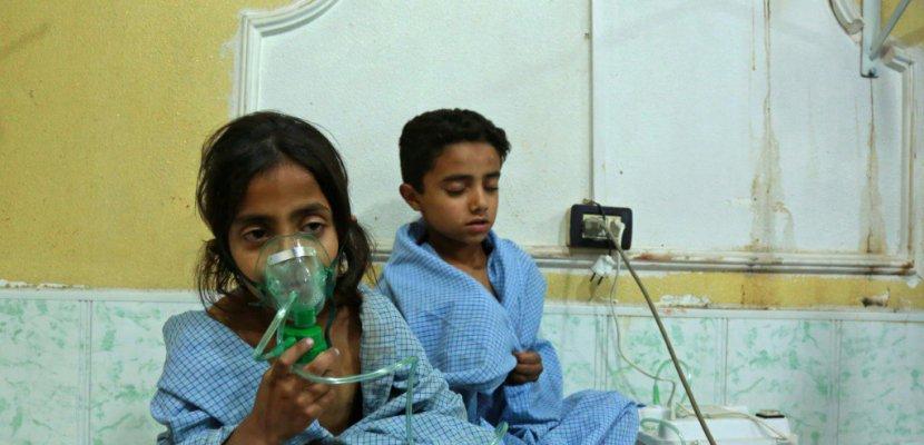 Syrie: 10 civils tués dans de nouvelles frappes du régime sur la Ghouta