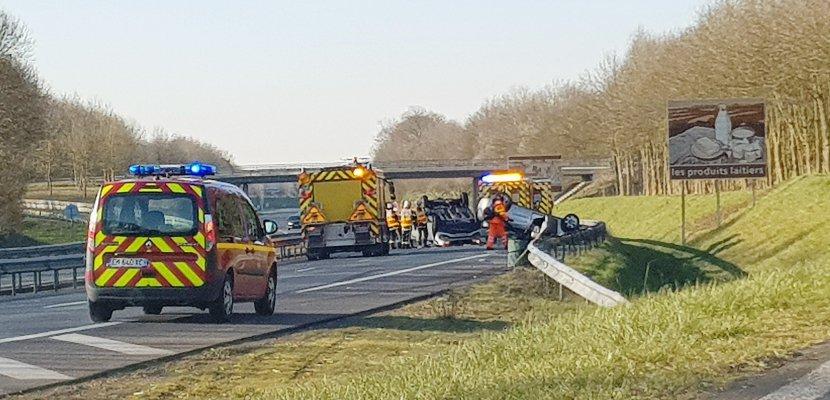 Accident sur l'A84 : l'autoroute fermée dans le sens Caen-Rennes