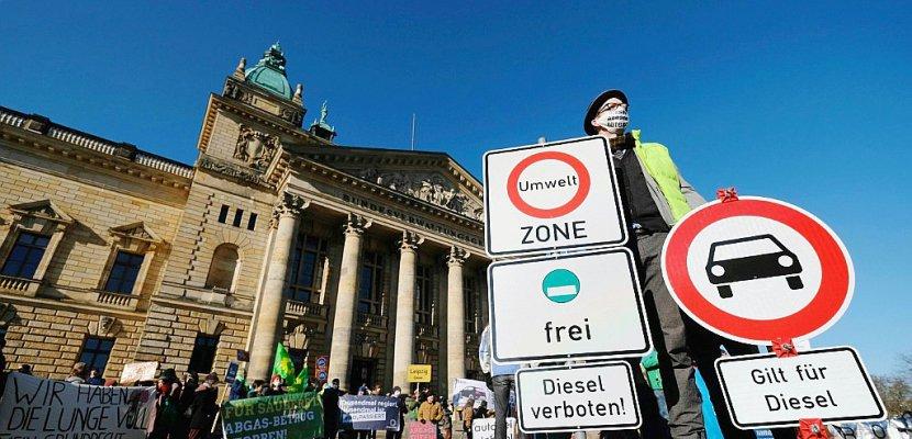 L'Allemagne se prépare aux interdictions des vieux diesel en ville