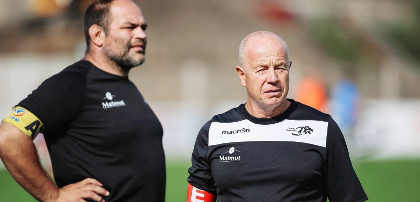 Rugby : Richard Hill rempile avec le Rouen Normandie Rugby