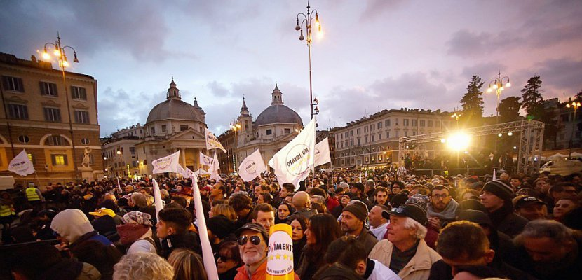 Elections en Italie: fin de la campagne après d'ultimes grands meetings