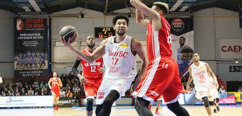 Basket(Pro B): le Caen BCs'offre sereinementle derby face au Havre