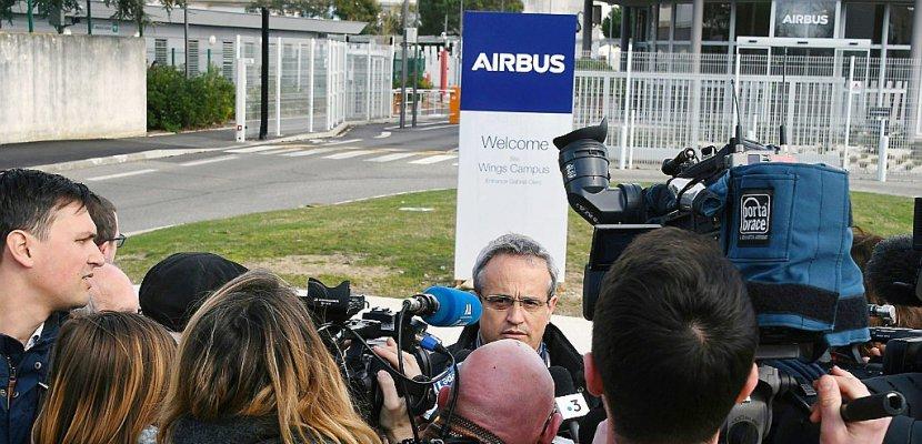 Airbus: 3.700 suppressions de postes en raison des baisse de cadences
