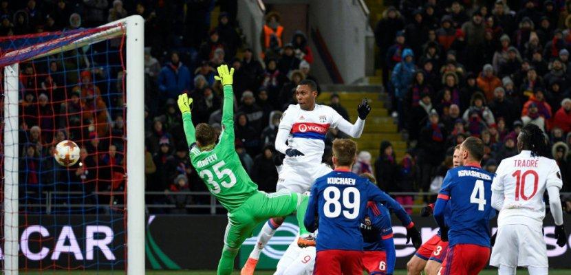 Europa League: Lyon se réchauffe en Russie, quarts en vue
