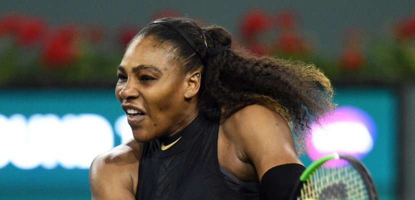Tennis: retour gagnant pour Serena Williams à Indian Williams