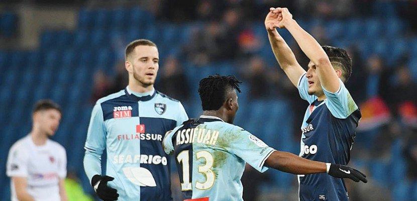 Football (Ligue 2, 29e journée) : Le Havre se réveille enfin