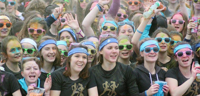 Près de Caen, presque 2000 participantes ont couru pour la Lycéenne Maif Run !