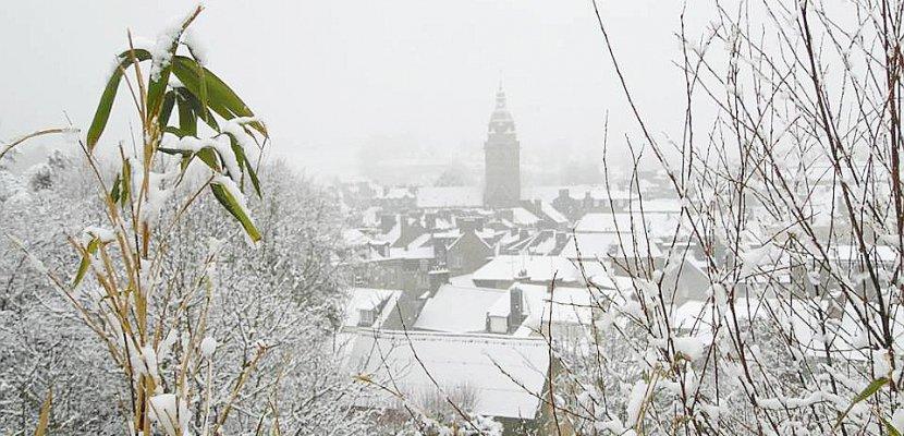 Neige : vos photos dans la Manche