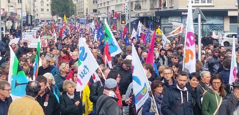 Caen. Grève du jeudi 22 mars : les manifestations en Normandie