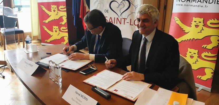 Saint-Lô: la région investit 1,5million d'euros pour laredynamisation du centre-ville