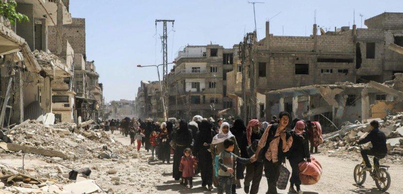 Syrie: les rebelles évacuent leur avant-dernier bastion dans la Ghouta