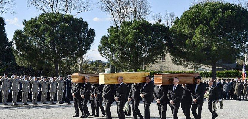 Attentats de l'Aude: émotion lors des derniers hommages aux victimes