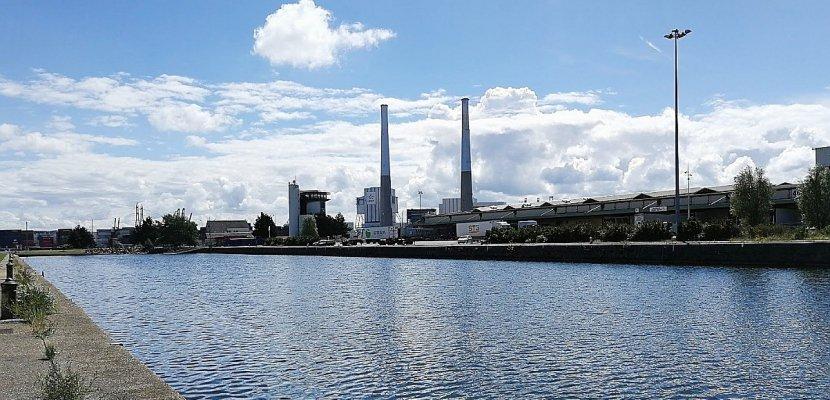 Grève à la centrale EDF du Havre
