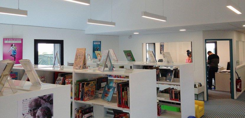 La bibliothèque Aragon rouvre à Saint-Étienne-du-Rouvray