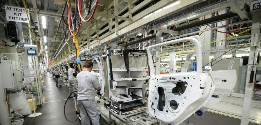 Marché automobile: bon début d'année pour les constructeurs français