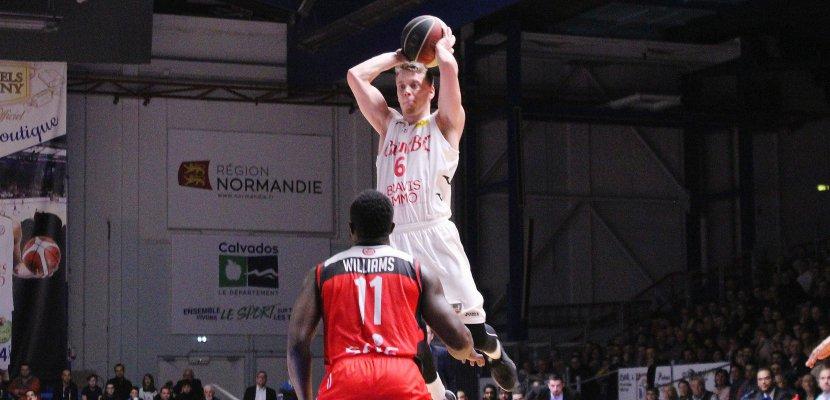Basket (Pro B) : cruelle défaite au buzzer pour Caen contre Aix-Maurienne