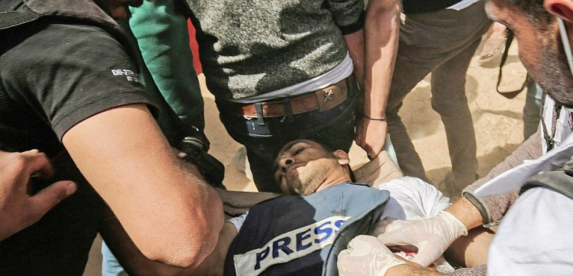 Gaza: un journaliste parmi les Palestiniens tués à la frontière israélienne