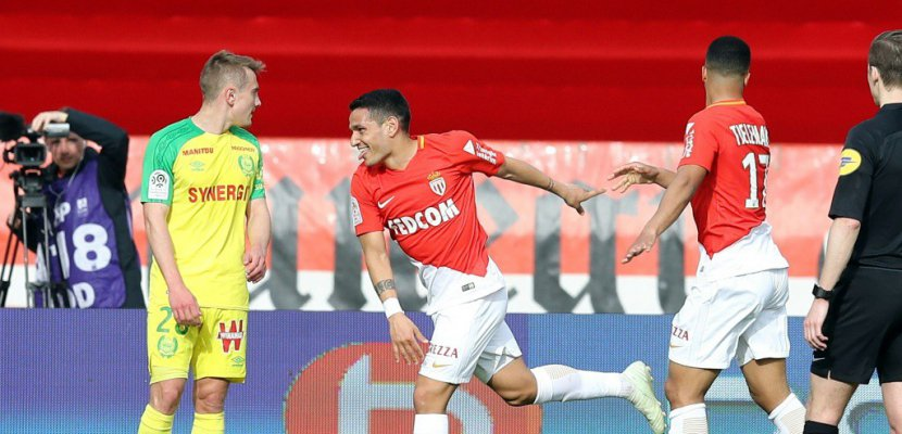 Ligue 1: Monaco éloigne ses concurrents, et Nantes de l'Europe