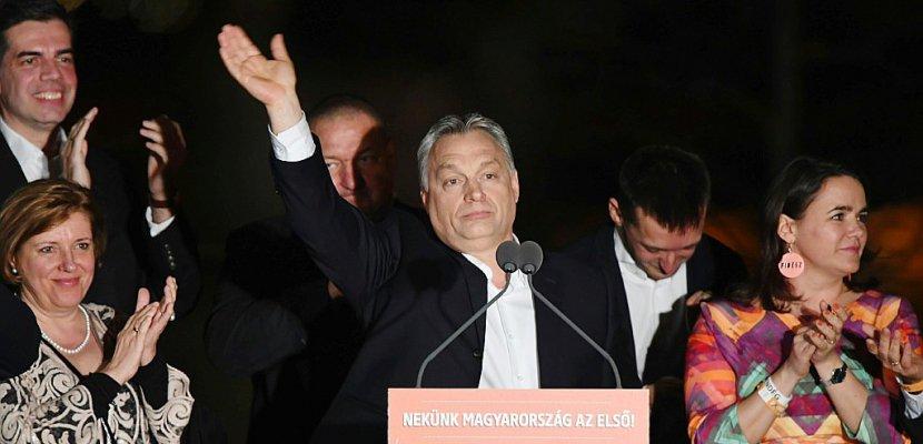 Hongrie: quatre ans de plus aux commandes pour le souverainiste Orban