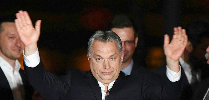 Quatre ans de plus aux commandes de la Hongrie pour le souverainiste Orban