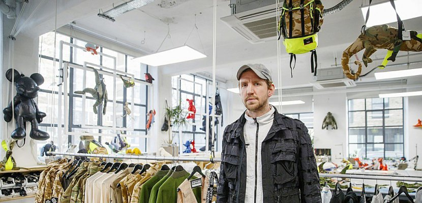 Christopher Raeburn, le crack de la mode écolo
