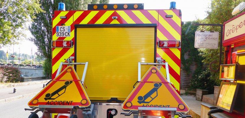 Saint-André-de-Bohon. Collision frontale près de Carentan : deux blessés