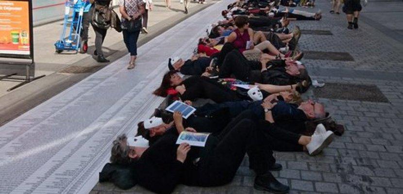 Caen. Hommage rendu à Caen aux migrants morts en Méditerranée