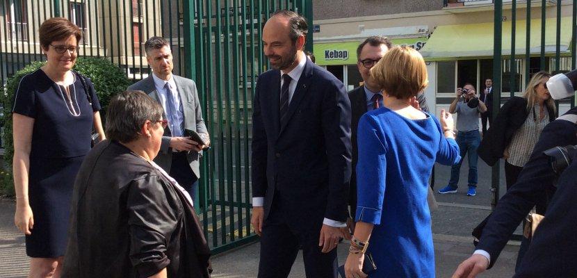 Édouard Philippe au Havre : revivez le déplacement du Premier ministre en tweets