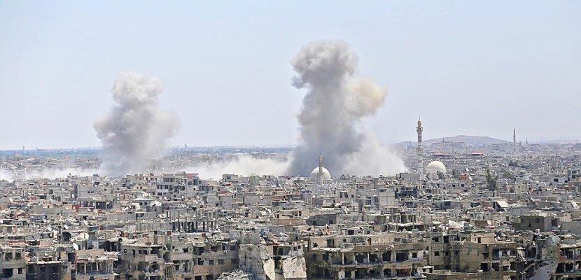Syrie: le régime continue sa reconquête de la région de Damas