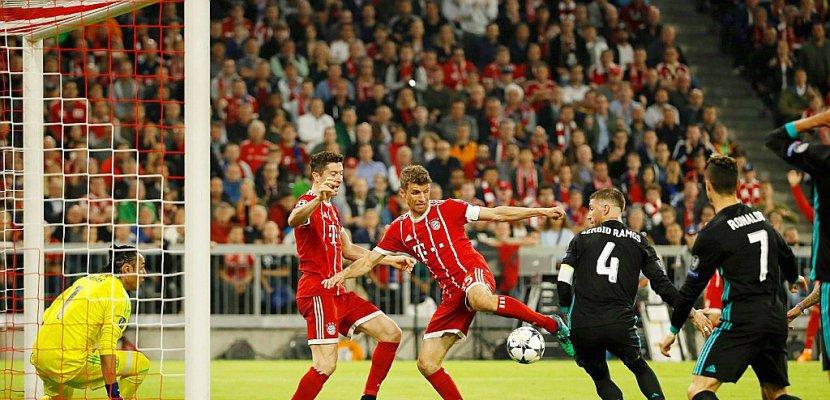 """C1: Le Real, en """"roi d'Europe"""", s'approche d'une troisième finale de suite"""