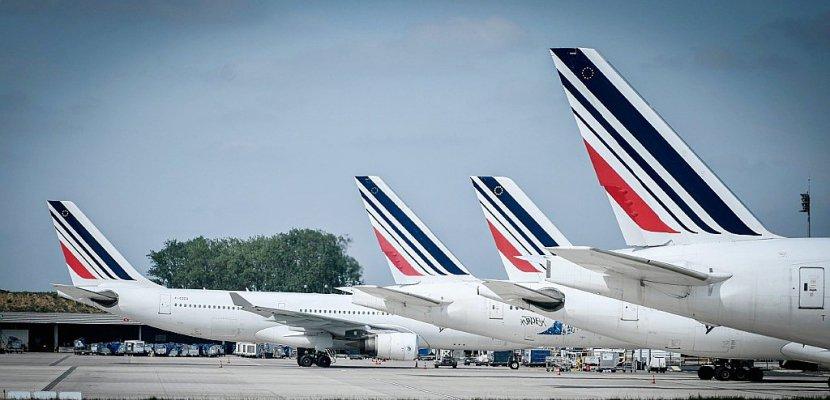 Air France: après les pilotes, l'intersyndicale appelle à la grève les 3, 4, 7 et 8 mai