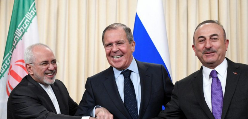 Kết quả hình ảnh cho Réunion des ministres sur la Syrie le 28 avril à Moscou