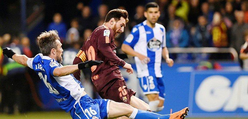 Espagne: triplé de Messi, doublé du Barça!